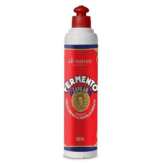 All Nature - Fermento Capilar - Shampoo Fortalecimento