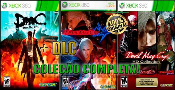 Devil May Cry - Coleção Completa Jogos Mídia Digital - Xbox 360