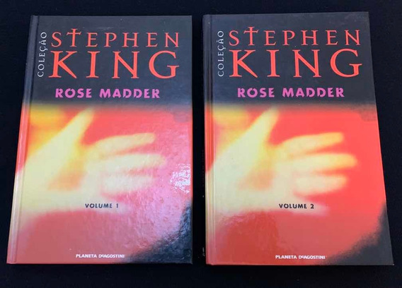 Livro Rose Madder - Volume 1 E 2 - Stephen King