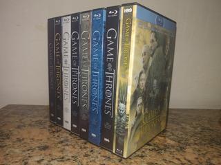 Blu-ray Game Of Thrones Las 8 Temporadas / Serie Completa