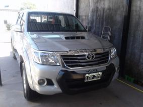Toyota Hilux Srv 2012 4x2 Cuero (gris) Inmaculada La Mejor