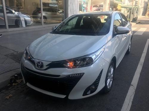 Toyota Yaris 5 Ptas Xls Cvt Aut/sec 7 Vel Entrega Programada