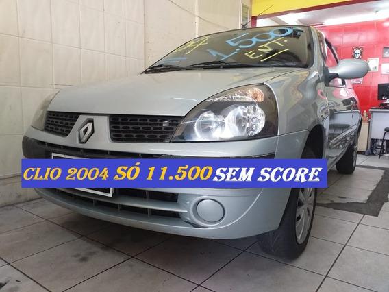 Renault Clio 2004 Financio Com Score Baixo