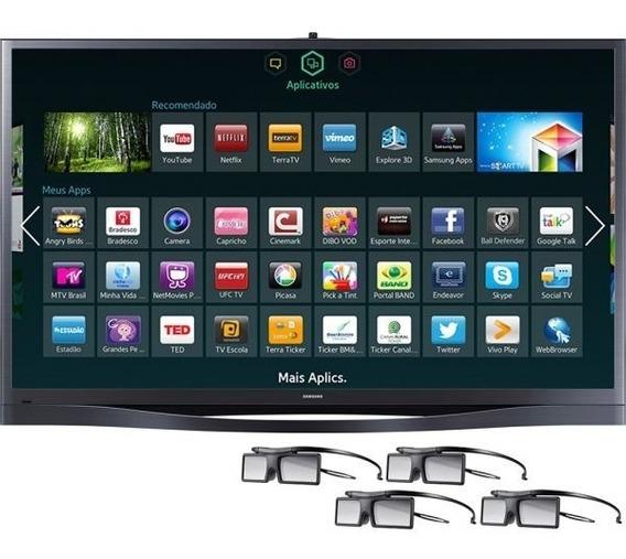 Tv Plasma 3d Samsung 64 Pl64f8500 / Smart Tv / Full Hd / Wi