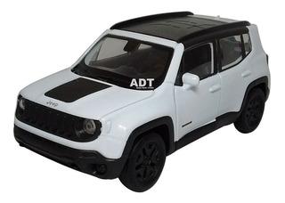 Miniatura Jeep Renegade Carrinho De Ferro Brinquedo Coleçao
