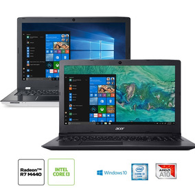 Kit: Notebook Acer E5-553g-t4tj Amd A10 + Notebook Acer Aspi