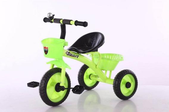 Triciclo Bebe Infantil Niños Asiento Caño Reforzado 005