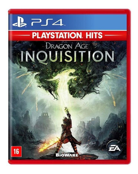 Dragon Age Inquisition Ps4 Mídia Física Novo Lacrado