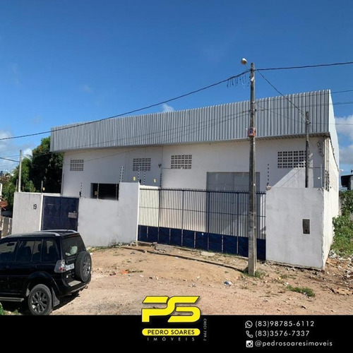 Imagem 1 de 20 de Galpão Para Alugar, 600 M² Por R$ 6.000/mês - Jardim América - Cabedelo/pb - Ga0045