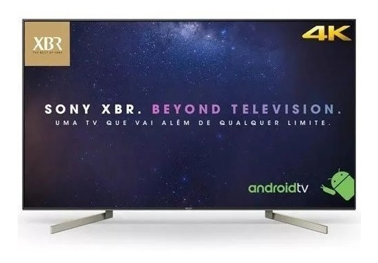 Smarttv 4k Sony Led 65 4k X-reality Pro Wi-fi - Xbr-65x905f