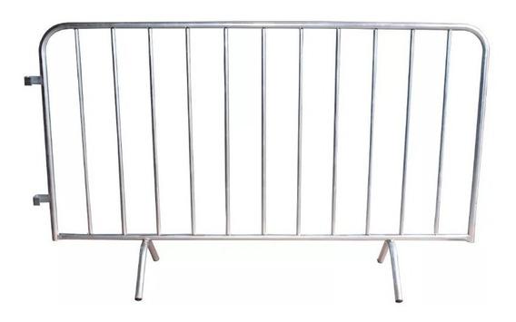 Grade De Contenção Gradil Eventos Barricada Show Aço
