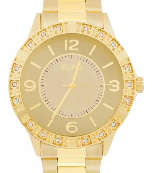 Relógio Euro Feminino Dourado - Eu2035yks/4d