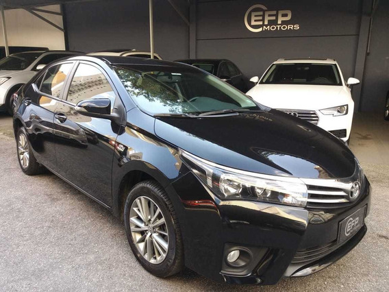 Toyota Corolla Xei 2.0 Flex 2015 Preto Automatico Novissimo
