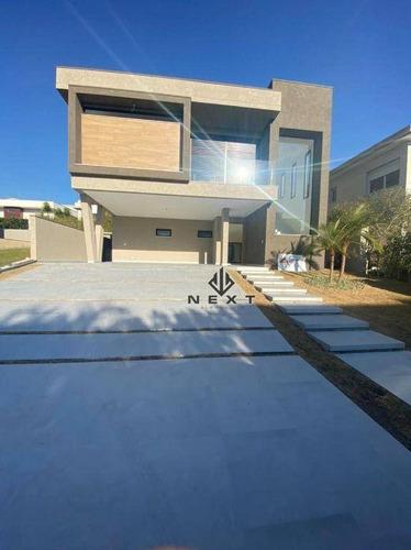 Imagem 1 de 27 de Casa Com 4 Suites À Venda, 420 M² No Residencial Tamboré 11 - Alphaville - Sp - Ca0420