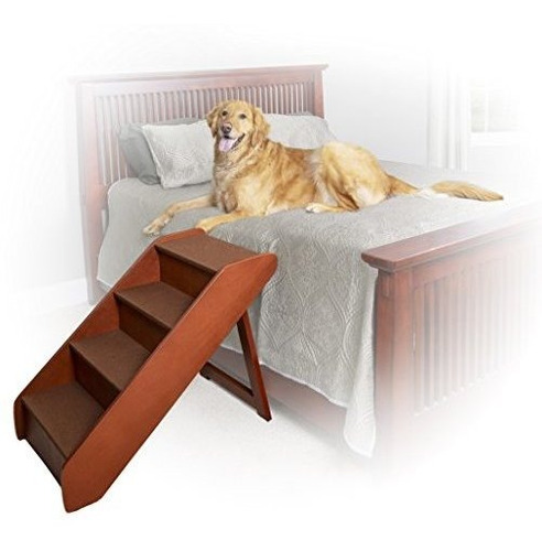 Imagen 1 de 6 de Solvit Petsafe Pupstep Escaleras De Madera Para Mascotas Xla
