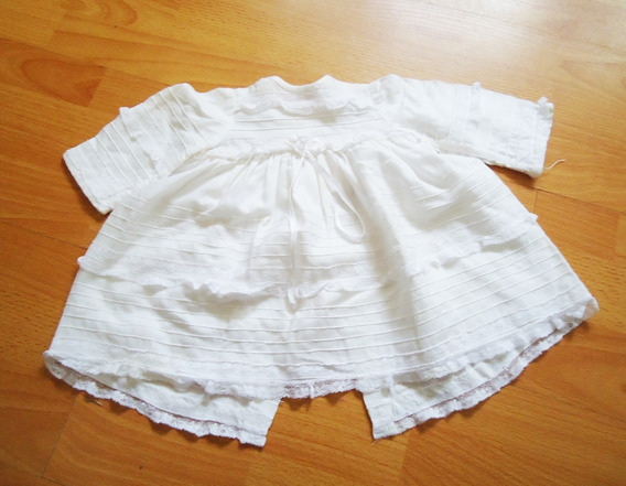 Vestido Blanco Bebe Bautismo Usado