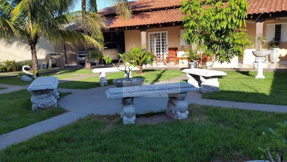 Casa Com 5 Dormitórios Para Alugar, 272 M² Por R$ 2.000/mês - Jardim Presidente I - Cuiabá/mt - Ca1173
