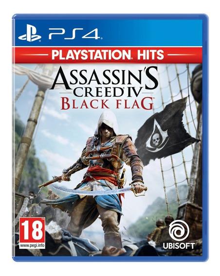 Jogo Assassins Creed Iv Black Flag Ps4 Midia Fisica Original