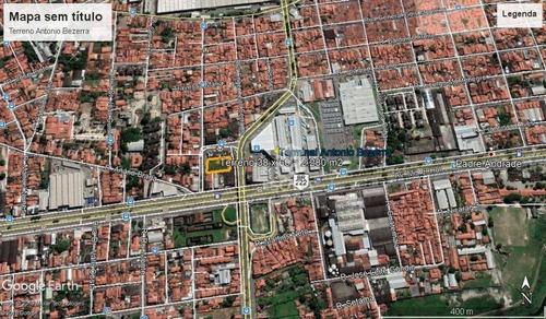 Terreno À Venda, 2280 M² Por R$ 1.800.000,00 - Antônio Bezerra - Fortaleza/ce - Te0298