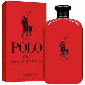 Perfume Polo Red Masculino Edt 200ml Original Lacrado