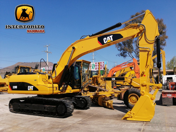 Excavadora Caterpillar 320d 2012 Cat 330 Cat 315