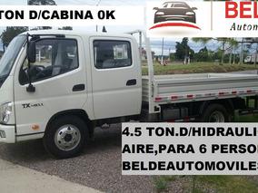 Foton Ok Doble Cabina 4.5 Toneladas