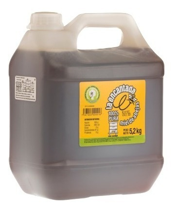 Miel La Encantada - Galón De 5,2 Kg De Miel 100% Pura