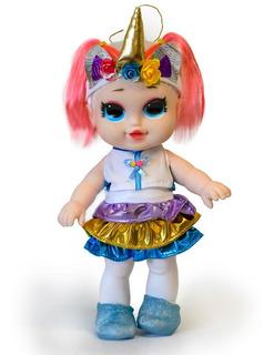 Muñeca Lol Unicornio 32 Cm.