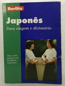 Japonês Para Viagem E Dicionário Berlitz