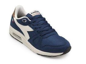 Tênis Masculino Diadora Steel Preto/ Azul-branco 125535