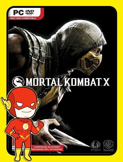 Mortal Kombat X Pc - Steam Key (envio Flash)