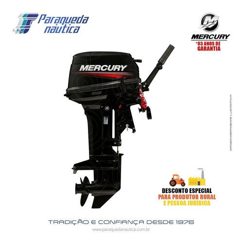 Motor De Popa Mercury 2 Tempos 15hp M Super