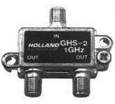 Divisor Holland Ghs-2 Antena Vhf E Uhf Net Tv Cabo 2 Saidas