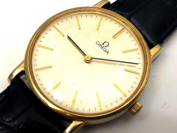 Sensacional Relógio Omega Corda Manual 32mm Plaquet Lindo