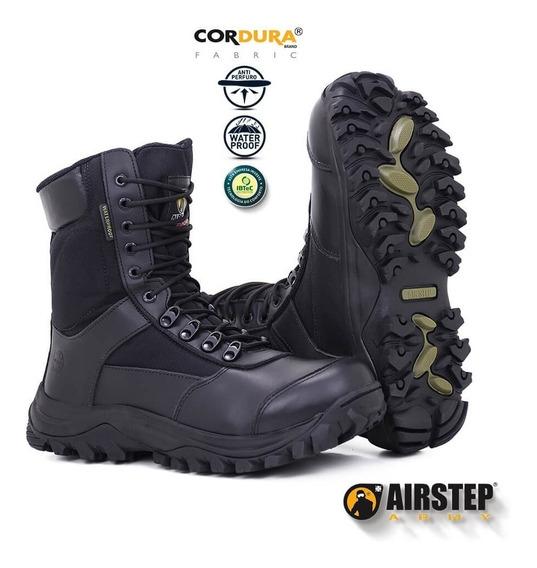 Bota Polícia Militar - 8625 / 1-black - Impermeável