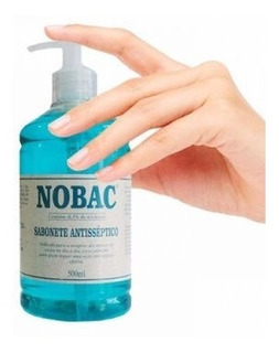 Sabonete Líquido Antisséptico 500 Ml - Nobac
