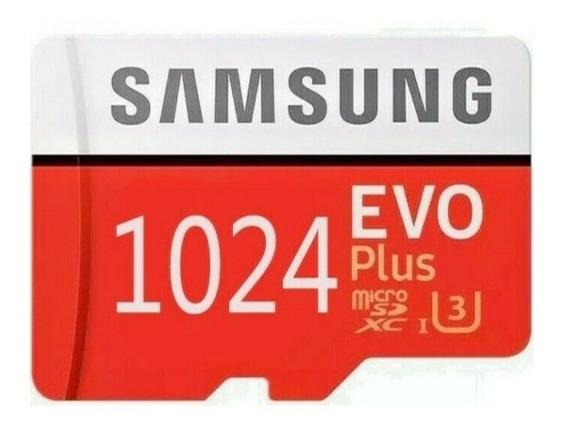 Cartão De Memória Samsung 1024gb Microsd C10 Leia O Anuncio