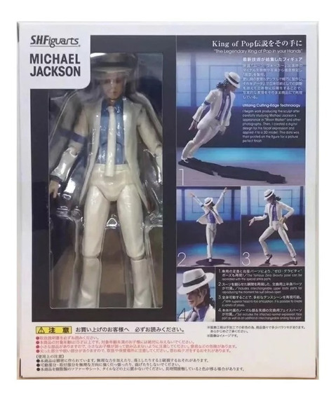 Boneco Figure Art Michael Jackson Smooth Criminal C/caixa