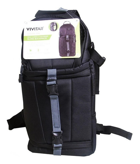 Mochila Vivitar Sling Backpack Vivdks15 Câmera Fotográfica