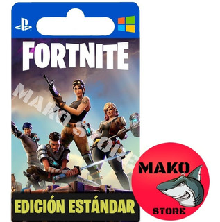 Fortnite Salvar Al Mundo: Pack Estándar - Pc / Ps4 / Xbox
