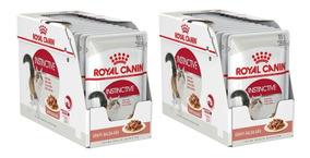 Royal Canin Sachê Úmidos Instinctive Kit 24 Un 85g Cada