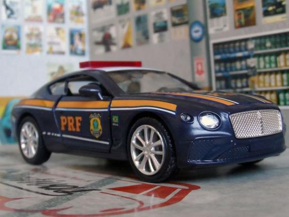 Miniatura Bentley Continental Prf Policia Rodoviaria Federal