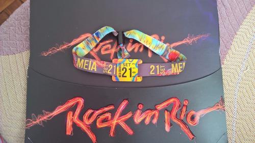 Ingresso Rock In Rio 2017 - 21/09 - Aerosmith-