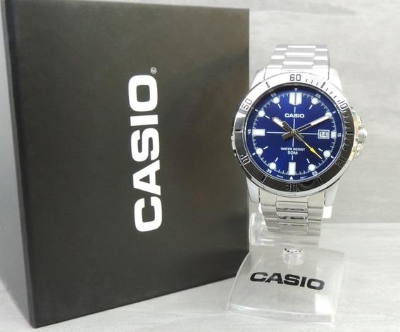 Relógio Masculino Casio Mtp-vd01d-2evudf - Nf Garantia Casio