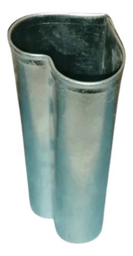 Molde Para Velas De Chapa Galvanizada Corazón 4,5x5x13cm