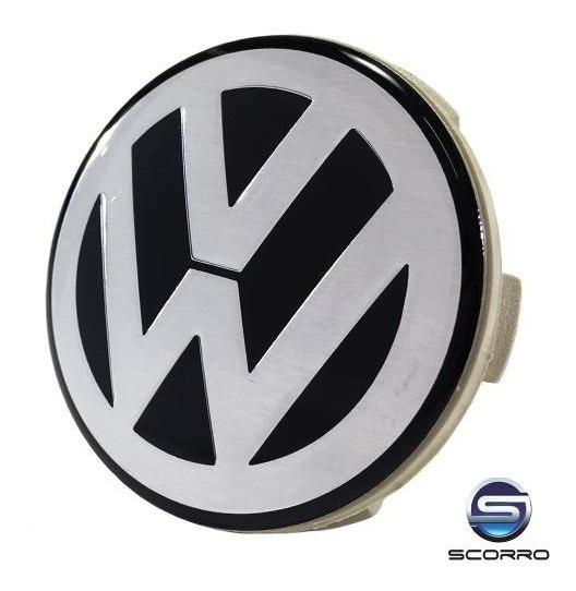 Calota Calotinha Roda Esportiva Scorro Volkswagen 55mm