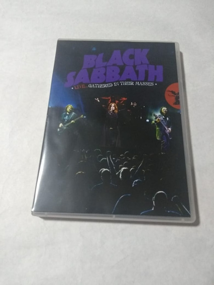 Black Sabbath Live Gathered In Their Masses Dvd Cd