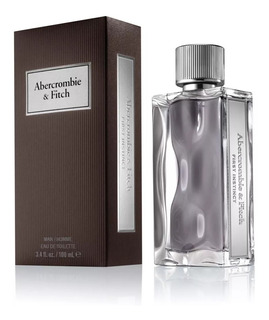 Perfume Abercrombie&fitch First Instinct M Edt 100ml Cuotas!