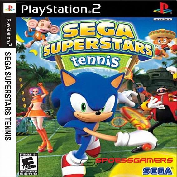 Sega Super Stars Tennis Ps2 Desbloqueado Patch