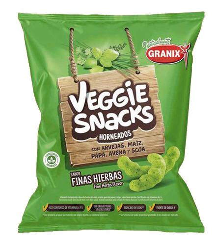 Veggie Snacks Sabor Finas Hierbas Horneados Snack Salado 45g